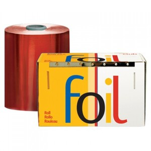 "Economy Highlighting Roll Foil - Red 5"" x 1200' (RF-50-60R)"