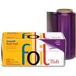 "Highlighting Roll Smooth Foil - Purple 5"" x 250"" (RF-10-60PU)"