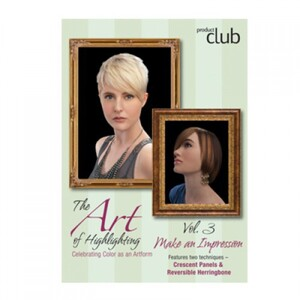 The Art of Highlighting: Volume 3 - Crescent Panels & Reversible Herringbone (DVD-AOH3)