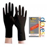 JetBlack® Reusable Latex Gloves - Small 2 Count (JBLG-2S)