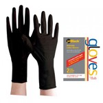 JetBlack® Reusable Latex Gloves - Large 2 Count (JBLG-2L)
