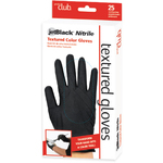 JetBlack® Nitrile Textured Color Gloves - Large-Extra Large 25 Count (PCTN25-LXL)