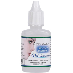 Adhesive Gel Remover 0.5 oz. - 15 mL. (3D-52504)
