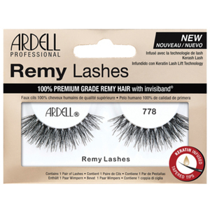 Remy Strip Lashes - Style 778 Black (AD67433)