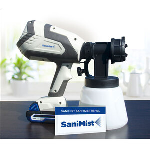 SaniMist Cordless Sanitizer System - Sanitize a 2000 Sq. Foot Space in Under 2 Minutes (SANI-84025)