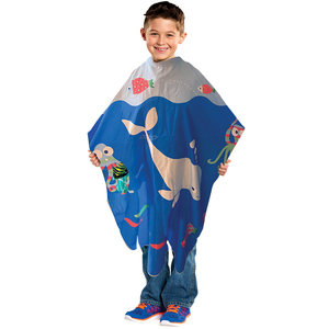 "Extra Long Kiddie Cape 35"" x 51"" (4146)"