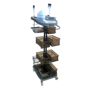 Salon Masters Hair Coloring Trolley with Tray (MF-