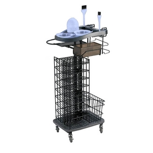 Salon Masters Hair Coloring Trolley with Basket (M