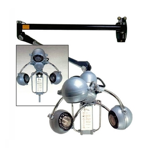 Salon Masters Heating Lamp with 3 Heads (Wall Unit