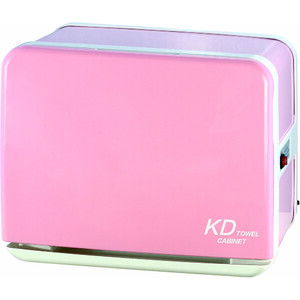 Color Series 8 Liter Towel Warmer with UV Light Sterilizer - Pink Holds 30 Washcloth Towels (KDJ-080-PINK)