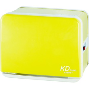 Color Series 8 Liter Towel Warmer with UV Light Sterilizer - Yellow Holds 30 Washcloth Towels (KDJ-080-YELLOW)