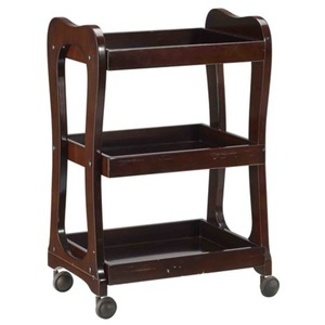The Teegan Wooden Esthetician Trolley 3 Shelves (XY-568-97-01)