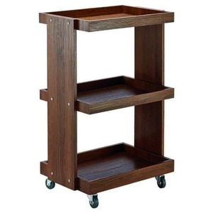 The Amelia Wooden Esthetician Trolley 3 Shelves (XY-568-111-05)