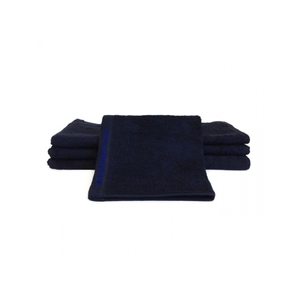 "Bleachsafe Washcloth Black 13""x13"" 1 Dozen ("