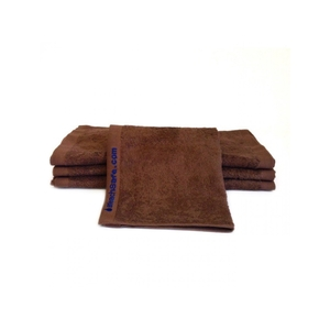 "Bleachsafe Washcloth Brown 13""x13"" 1 Dozen ("
