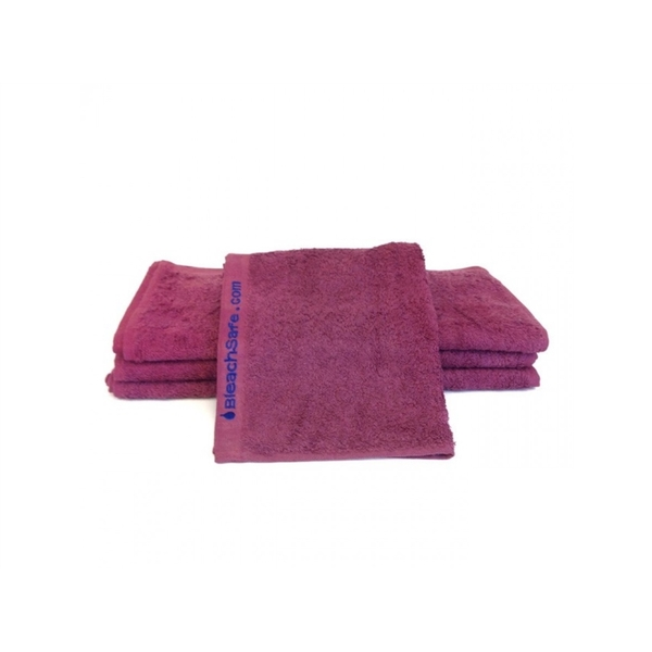 "Bleachsafe Washcloth Wine 13""x13"" 1 Dozen (P"