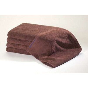 Bleachsafe Standard Salon Size Towel Brown 15""