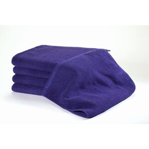 Bleachsafe Standard Salon Size Towel Navy-Purple