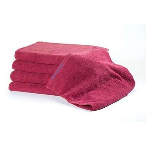 Bleachsafe Standard Salon Size Towel Ruby Red