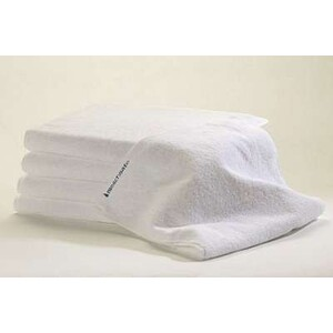 Bleachsafe Standard Salon Size Towel White 15""