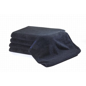 "Bleachsafe Special Size Towel Black 16""x28"""