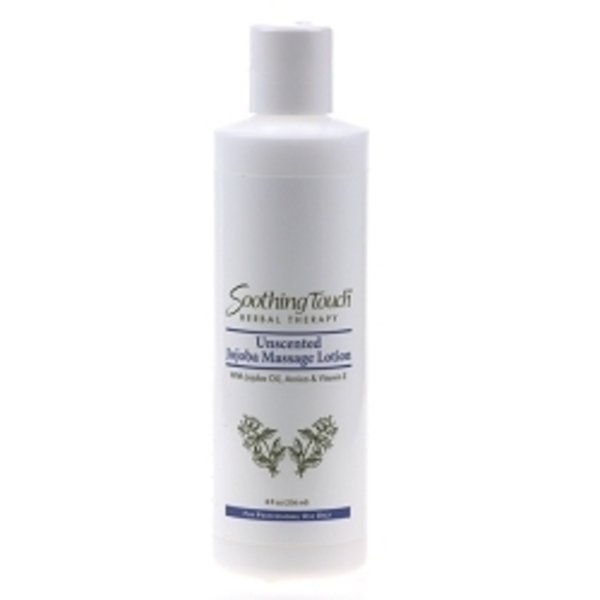 SOOTHING TOUCH Unscented Jojoba Massage Lotion 8