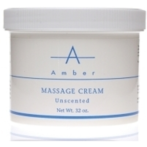 AMBER Unscented Massage Cream 32 oz.