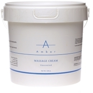 AMBER Unscented Massage Cream 1 Gallon