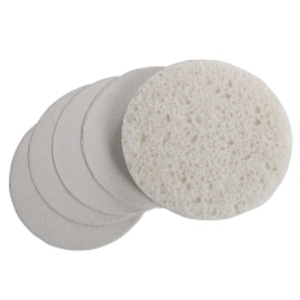 Round Compressed Sponge White 24 Pack