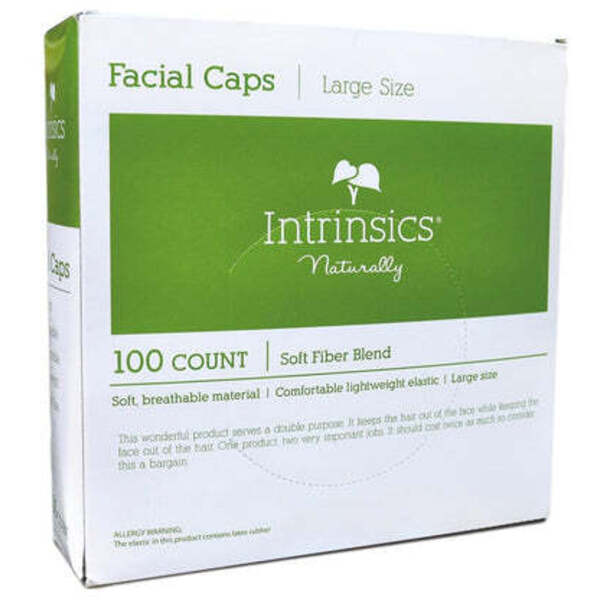INTRINSICS Facial Caps 100 Pack