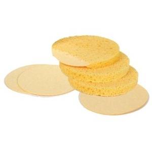 INTRINSICS Compressed Sponge Natural 100 Pack