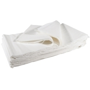 "SPA ESSENTIALS Drape Sheets White 40"" x 72"""