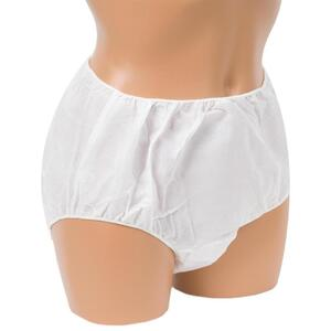 INTRINSICS Ladies Brief L-XL White 25 Pack