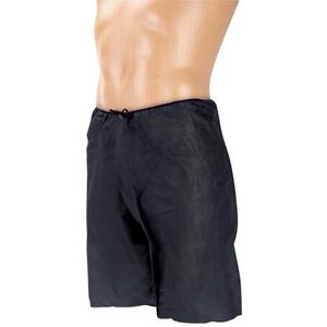 Canyon Rose Disposable Men's Boxer One Size Fits Most Black 10 Pack