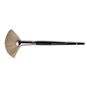 "Fan Mask Brush 1.5"" Span Natural"