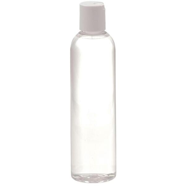 8 oz. Bottle with White Cap