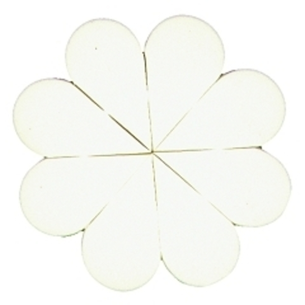 8 Pc.Latex-Free Flower Wheel