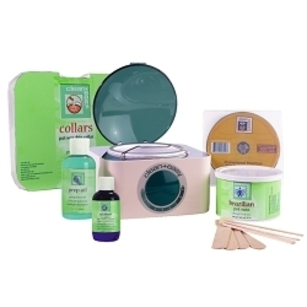 CLEAN & EASY Brazilian Waxing Kit