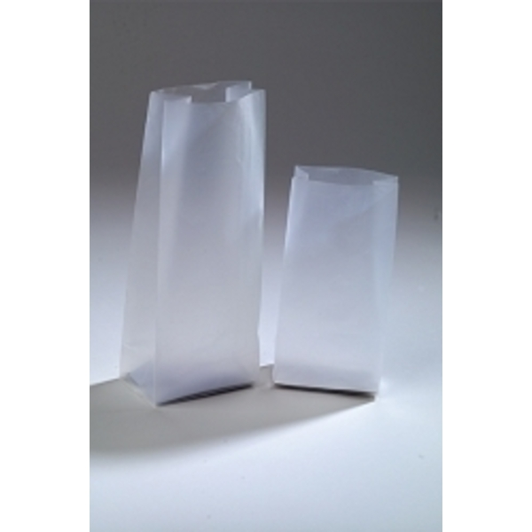 "Large Frosted Bag 4"" x 1.75"" x 10"""