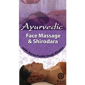 Ayurvedic Face Massage & Shirodara DVD (C79179)