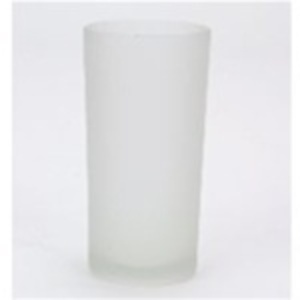 Frosted Glass Holder for Rechargeable Candle (C239T)