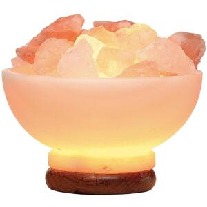 Fire Bowl Salt Lamp (C3523)