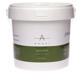 Amber® Green Tea Mint Exfoliating Salt Glow / 1 Gallon (C4319T)