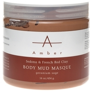 Amber® Sedona & French Red Clay Mud Masque / 16oz (C4320T)