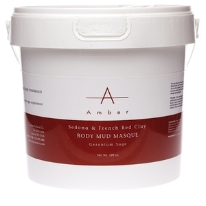 Amber® Sedona & French Red Clay Mud Masque / 1 Gallon (C4322T)