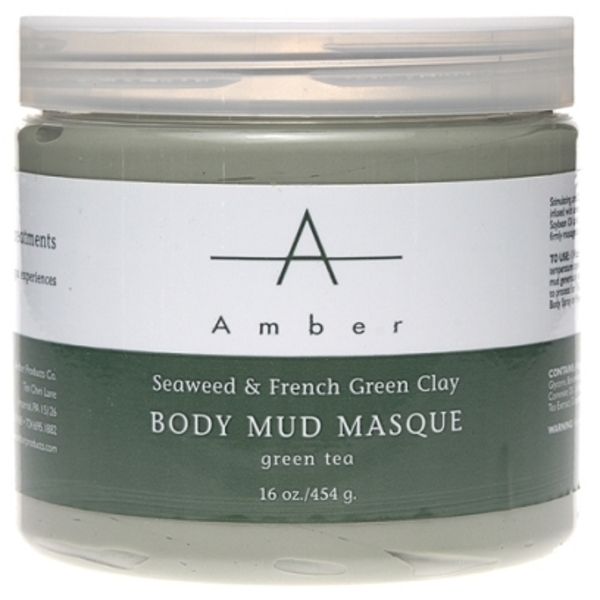 Amber® Seaweed & French Green Clay Mud Masque / 16oz (C4326T)