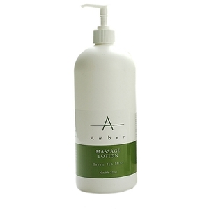 Amber® Green Tea Mint Massage Lotion / 32oz (C4369T)