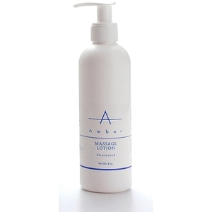 Amber® Unscented Massage Lotion / 8oz (C4371T)