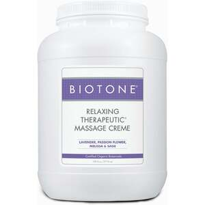 Biotone Relaxing Therapeutic Massage Creme / 1 Gallon (C439T)
