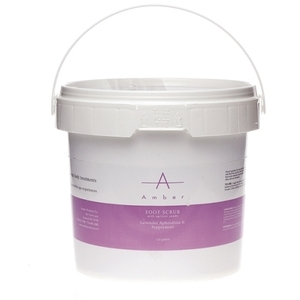 Amber® Lavender Aphrodisia & Peppermint Foot Scrub with Apricot Seeds / 1/2 Gallon (C4506T)